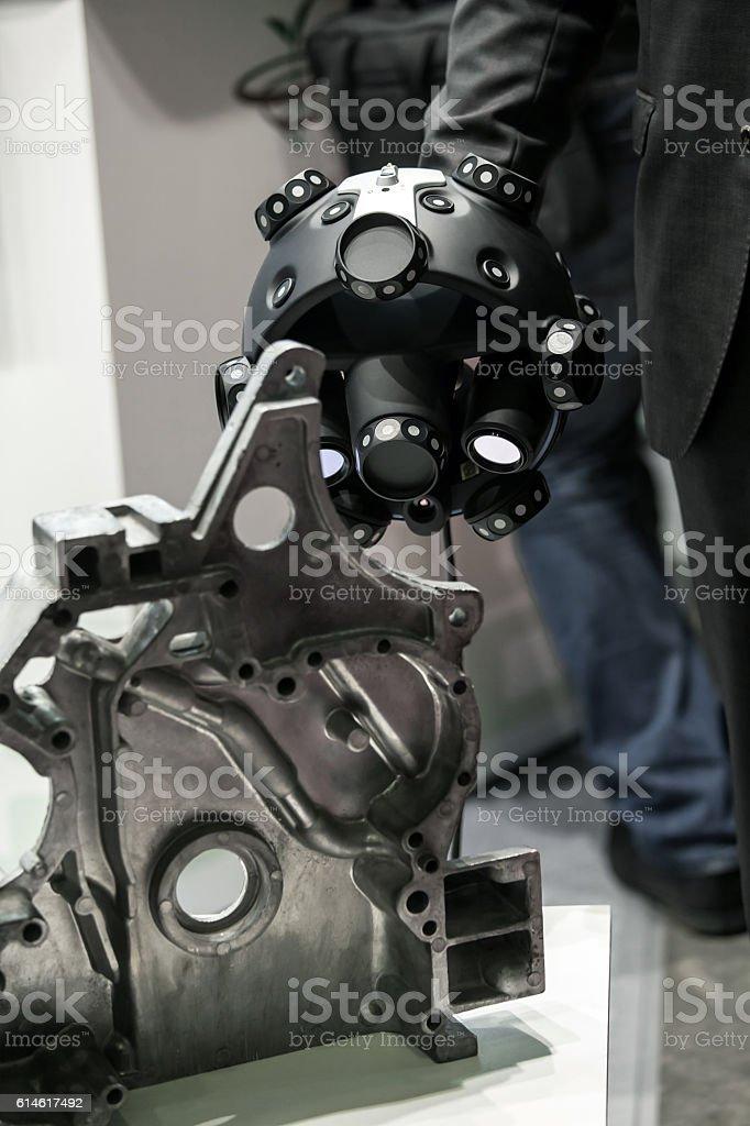 Optical CMM 3D Scanner stock photo