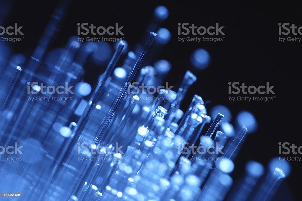 optical fibre royalty-free stock photo