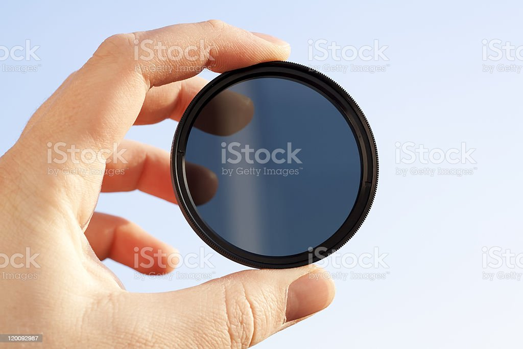 Optical filter royalty-free stock photo
