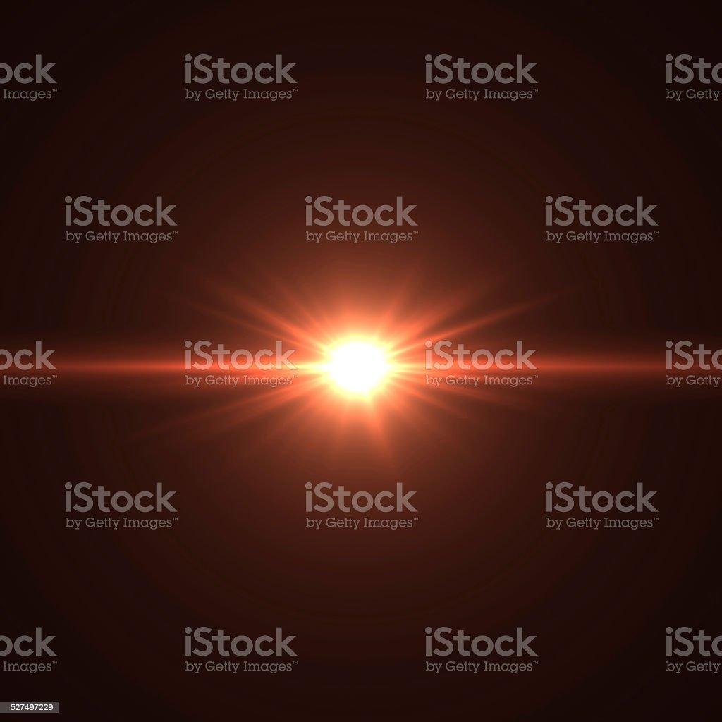 optical flares stock photo