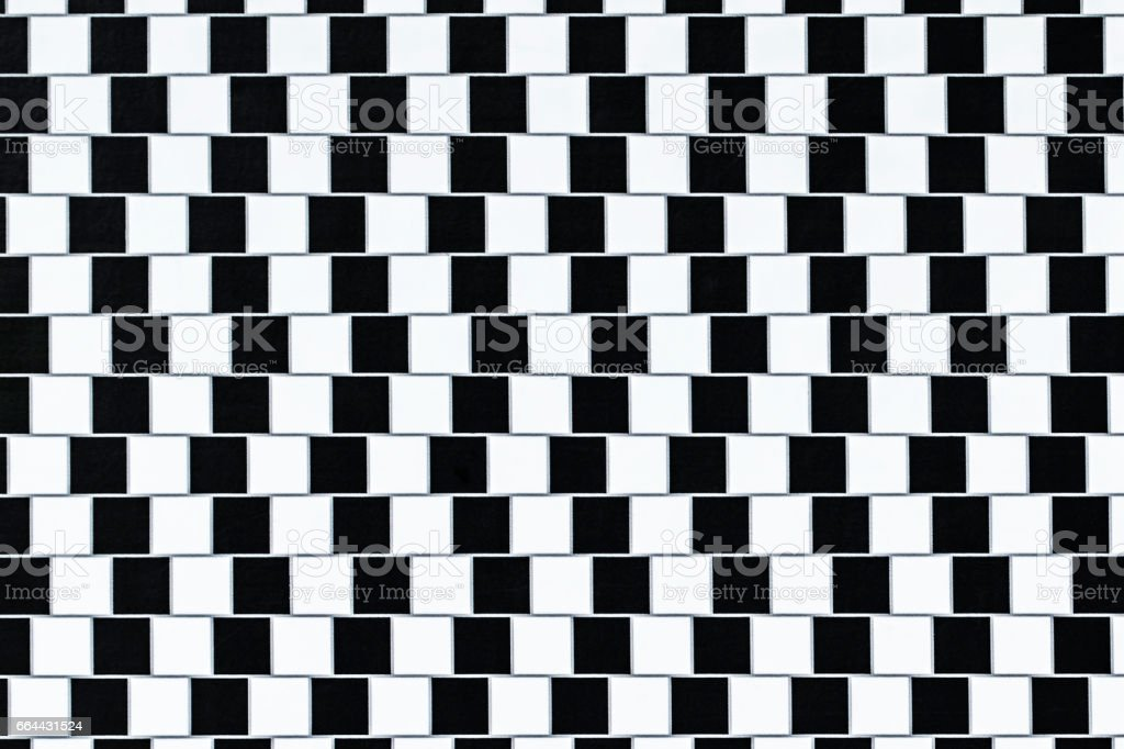Optical Illusion Lines stock photo