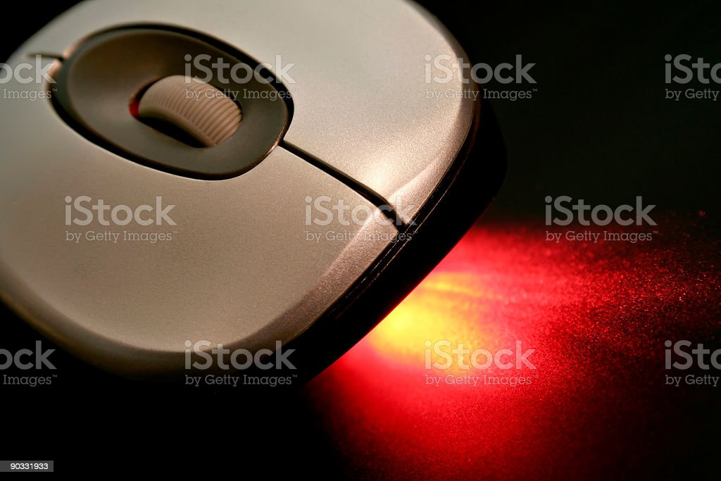 Optical Mouse royalty-free stock photo