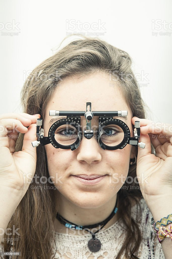 Optical stock photo