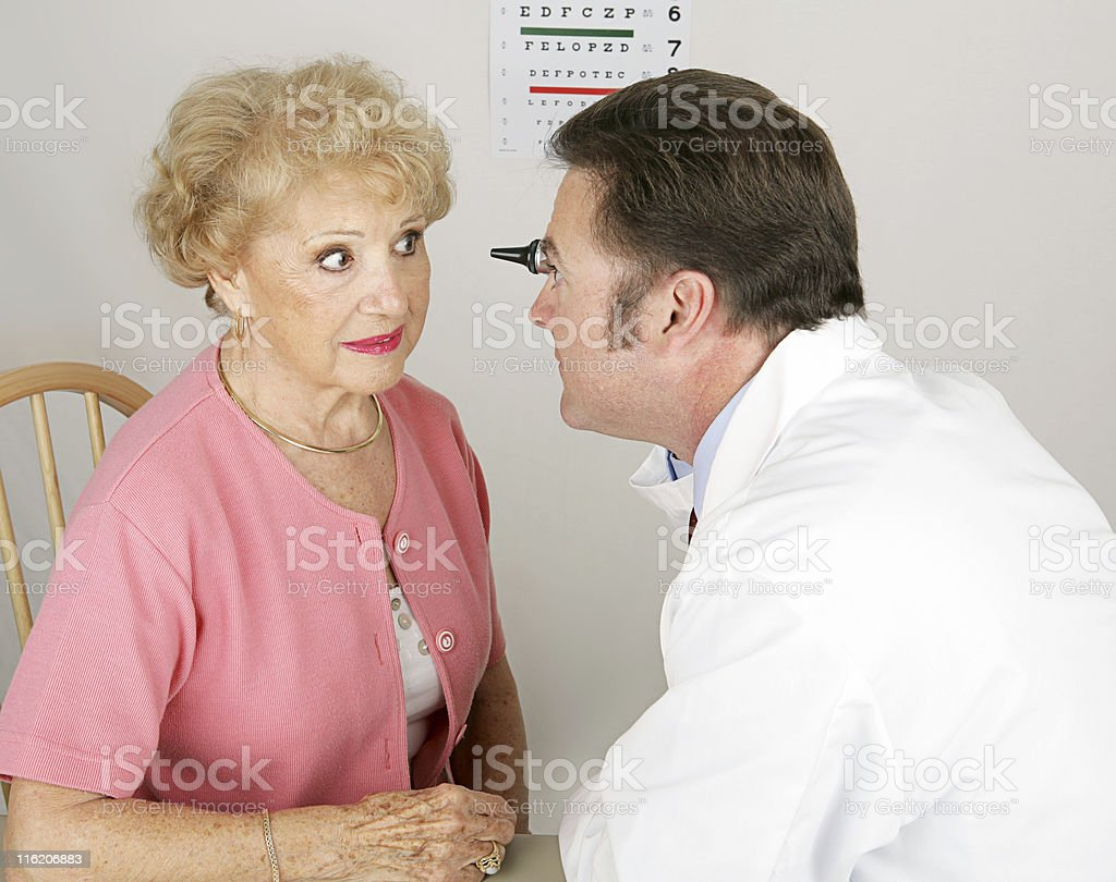 Optical Series - Ophthalmoscope royalty-free stock photo