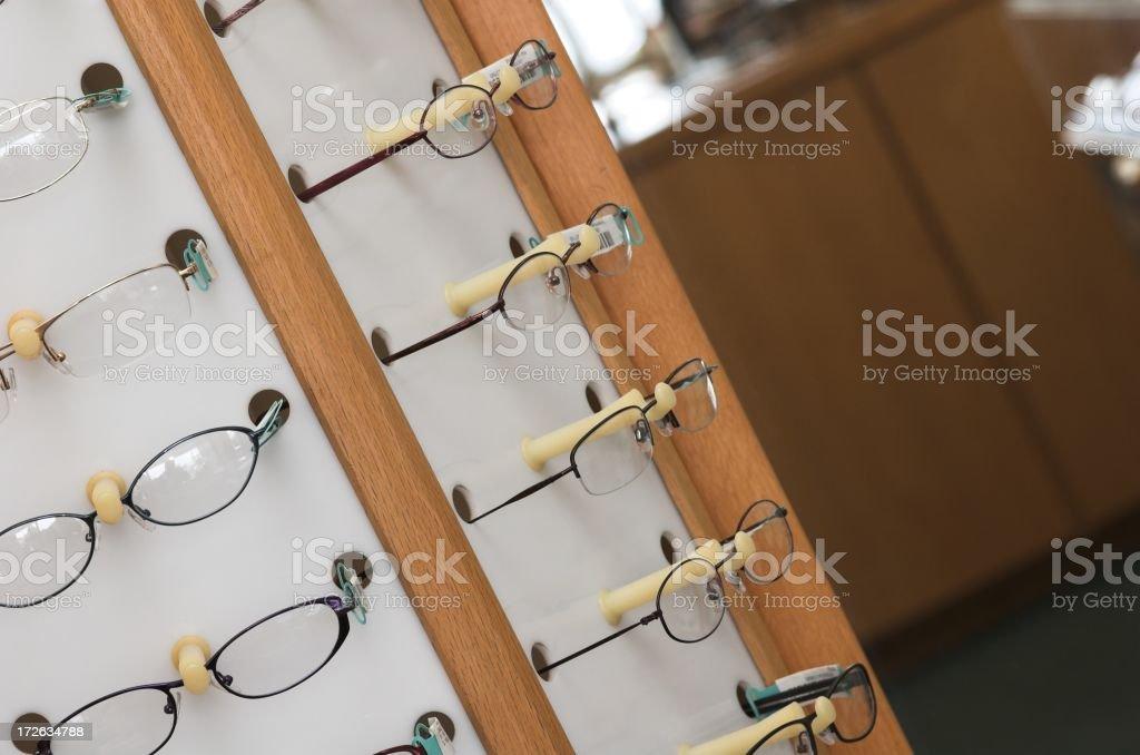 optical shop royalty-free stock photo