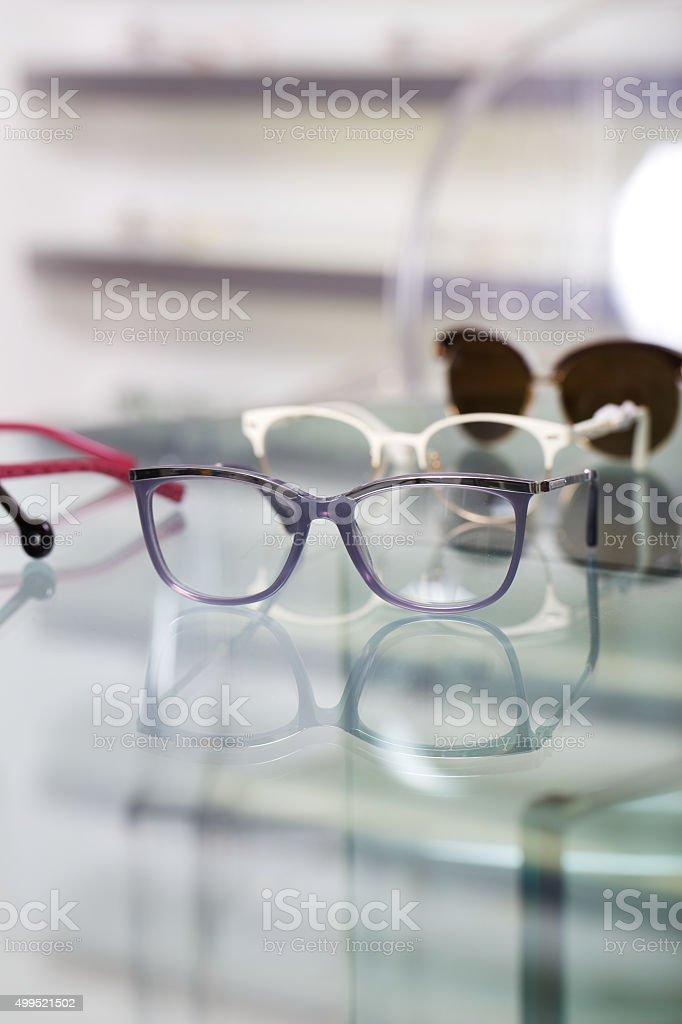 optical store stock photo