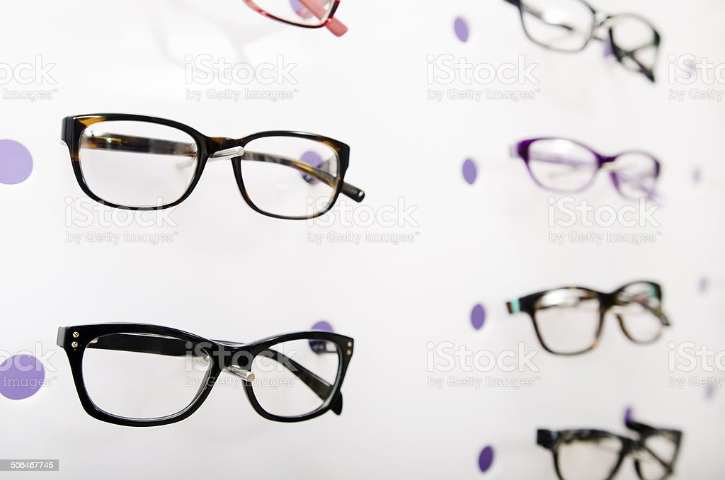 Optical store royalty-free stock photo