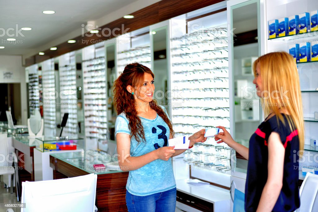 optician stock photo