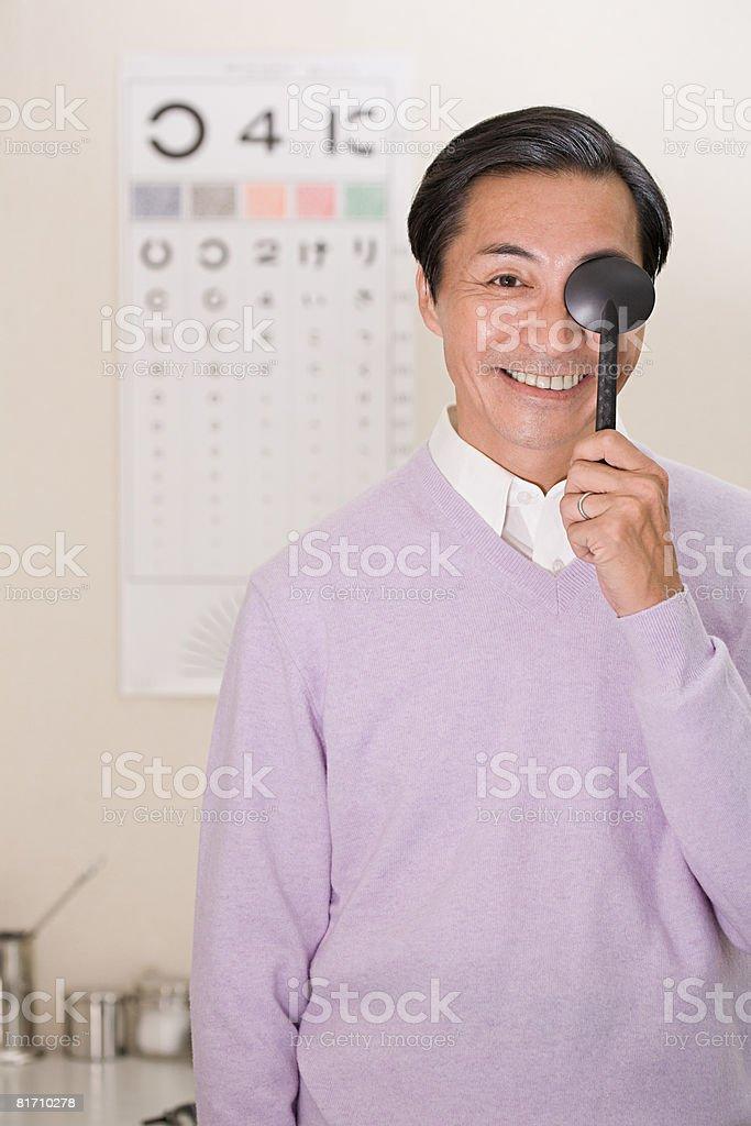 Optician royalty-free stock photo