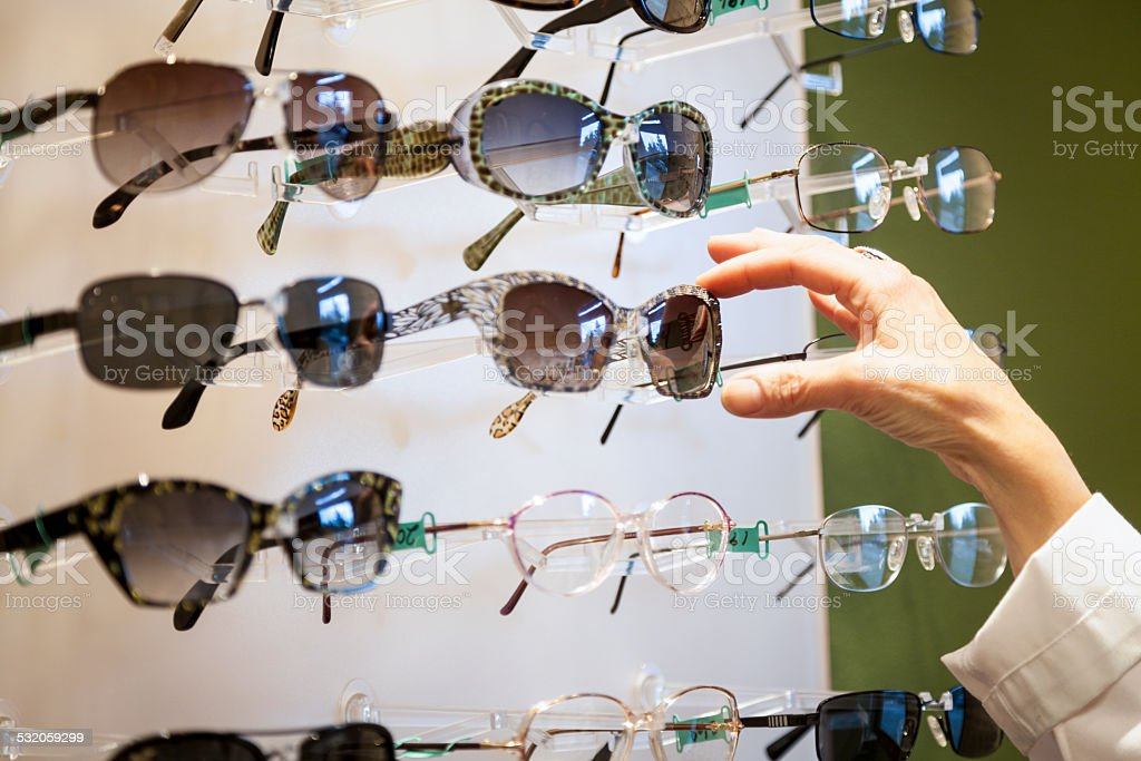 Optician Store stock photo