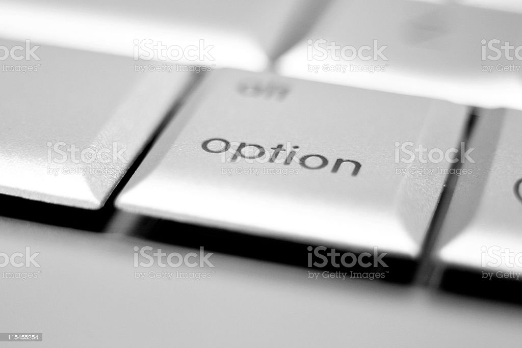 Option Key royalty-free stock photo