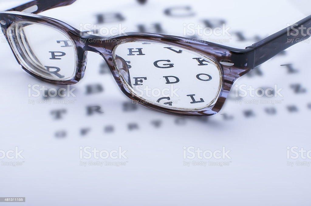 Optometry concept stock photo