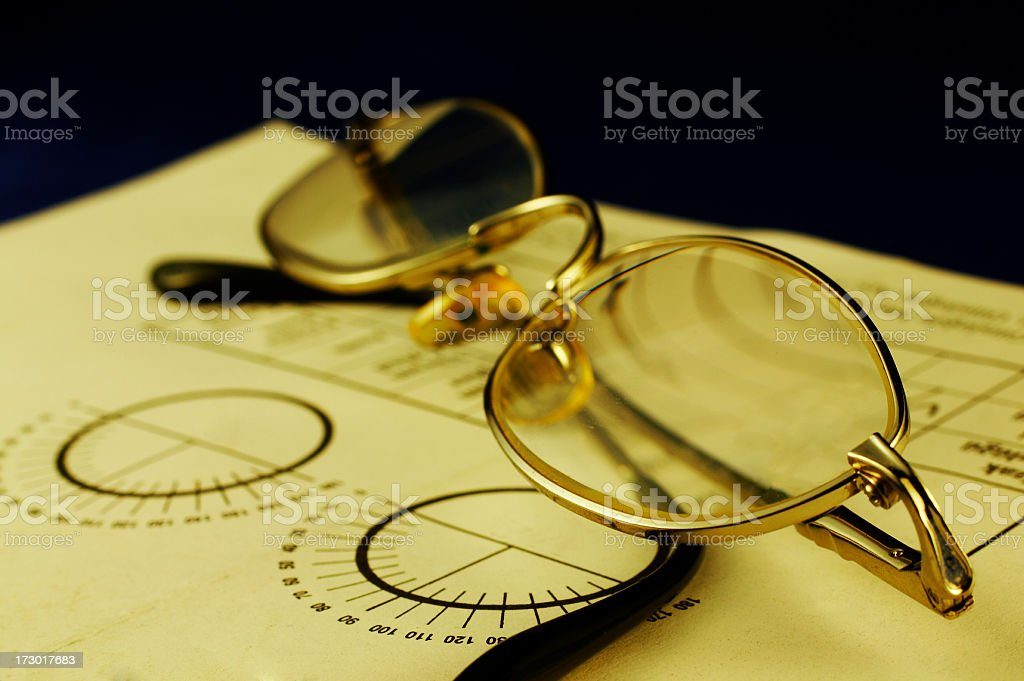 Optometry Examination stock photo