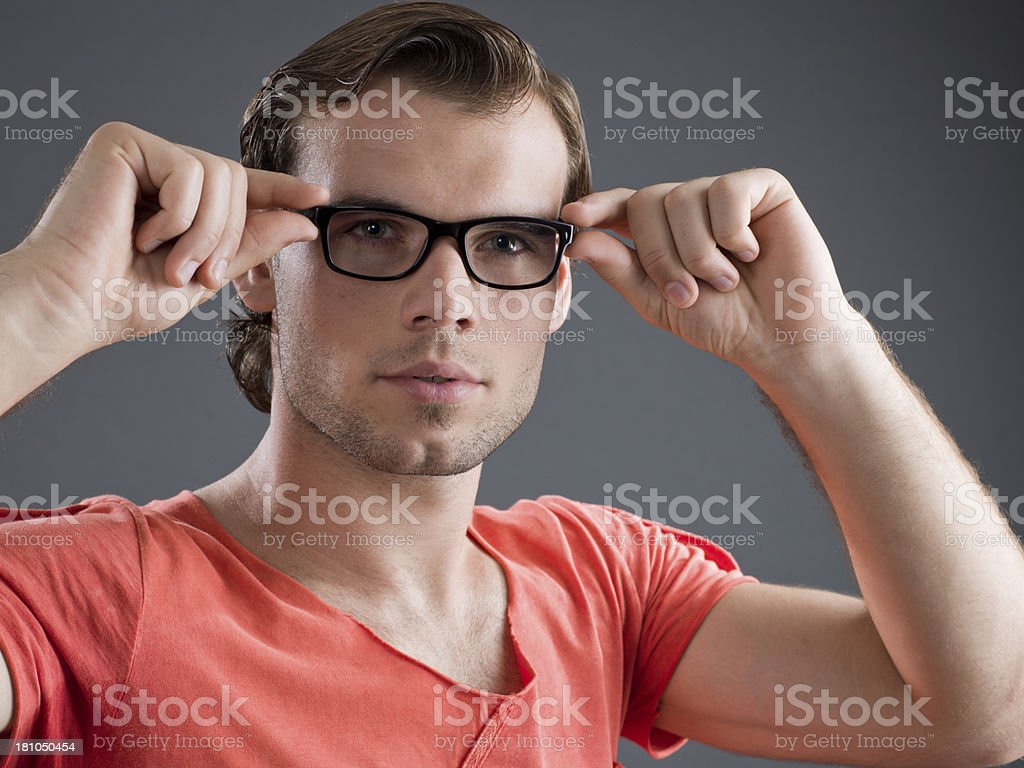 Optometry stock photo