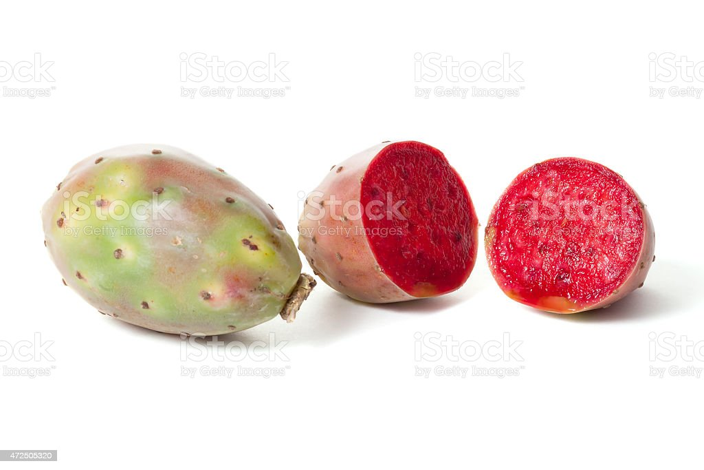 Opuntia fruit stock photo