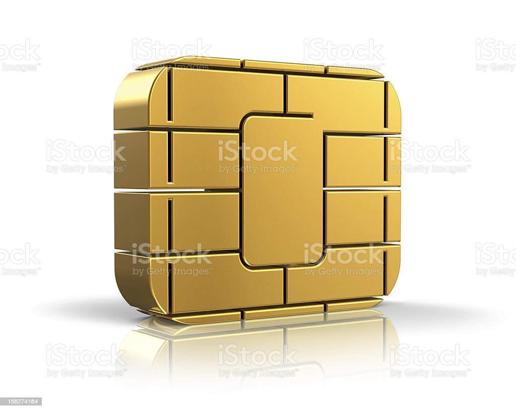 SIM or credit card concept stock photo