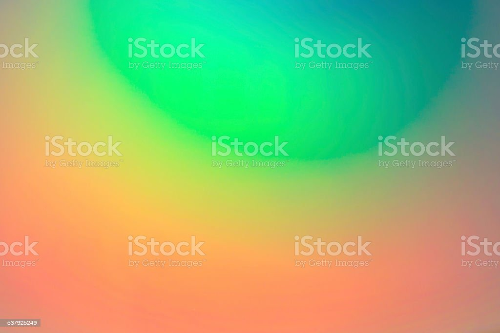 CD or DVD with lots of vivid colors reflected stock photo