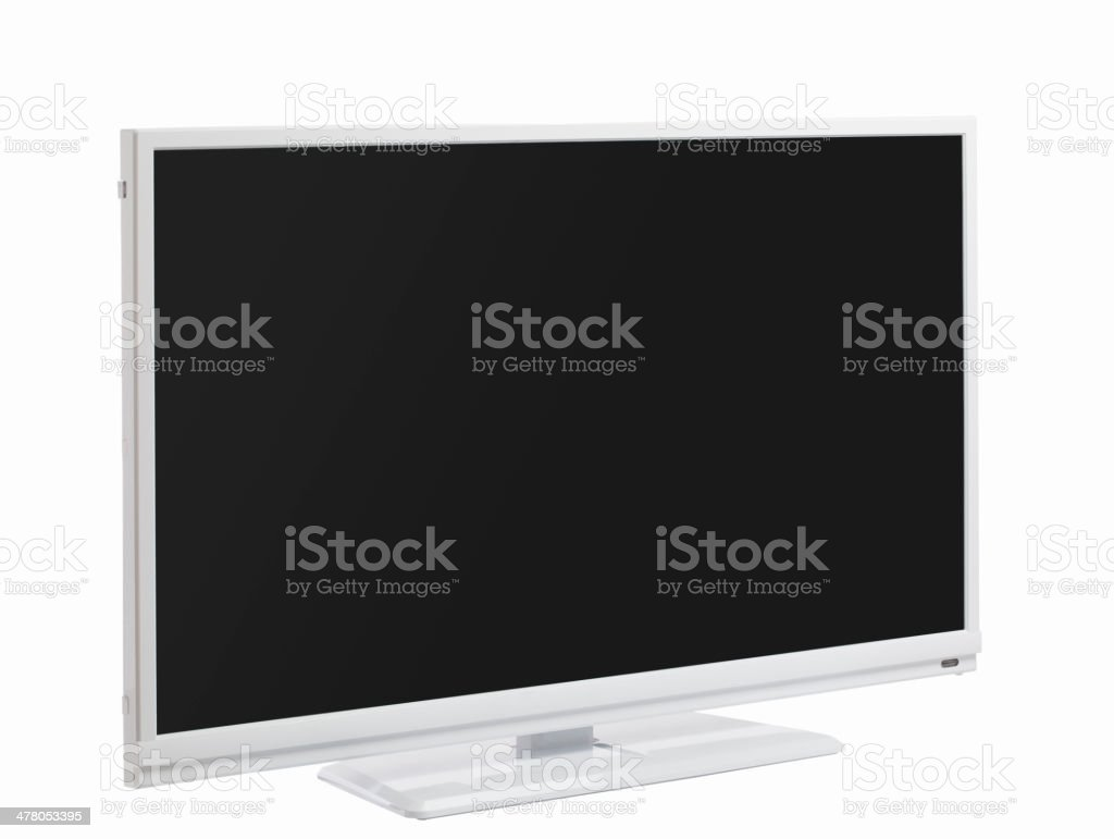 LCD or LED TV royalty-free stock photo