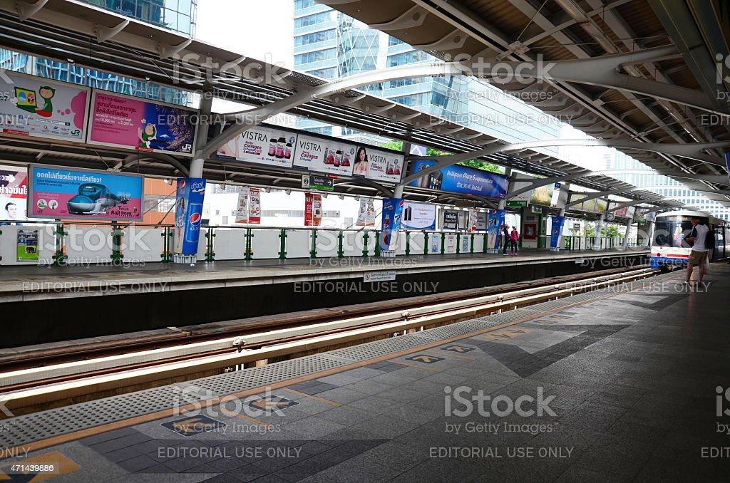 BTS or Skytrain stock photo