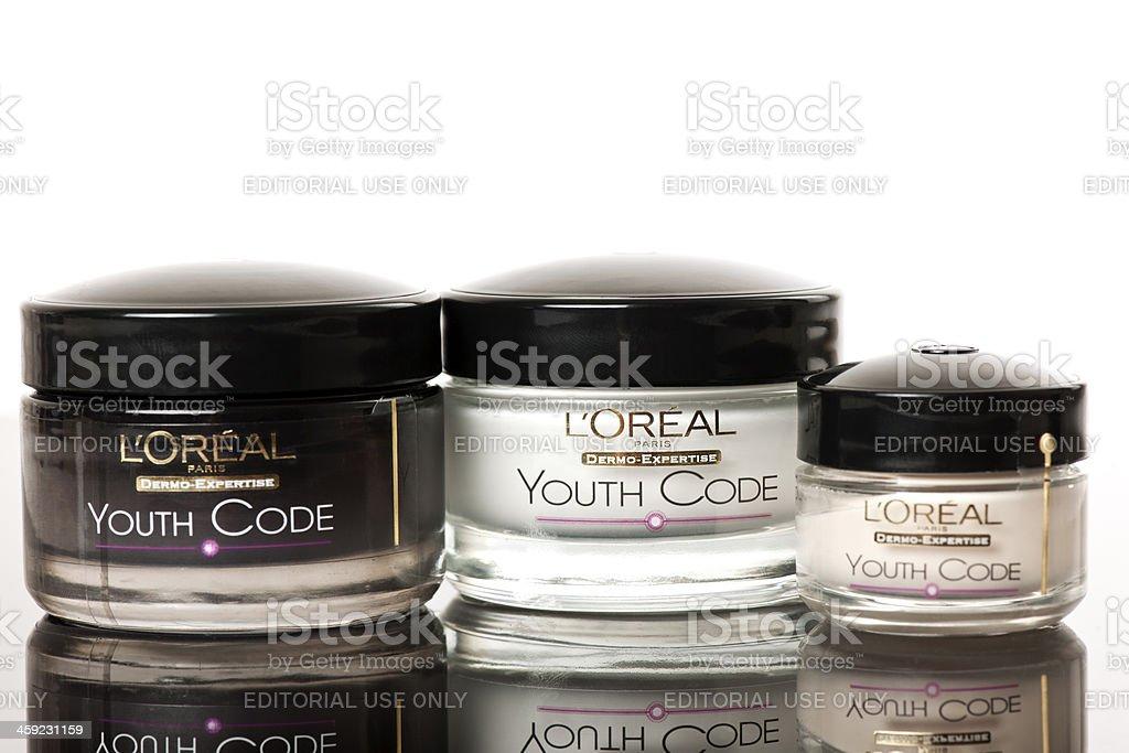 L'oréal royalty-free stock photo