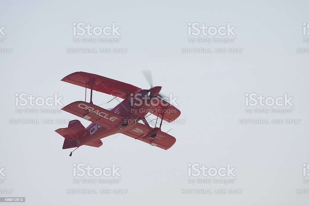 Oracle Bi-Plane royalty-free stock photo