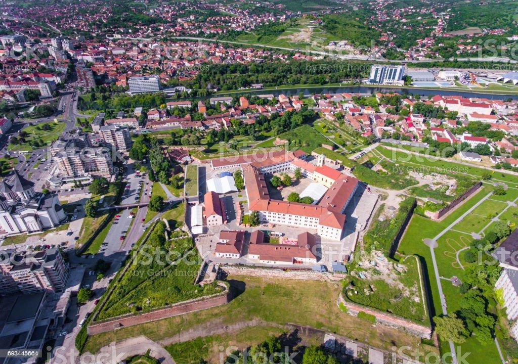 Oradea medieval fortress, Bihor County, Romania stock photo