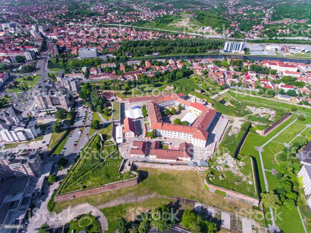 Oradea - Nagyvarad medieval fortress, Bihor, Romania stock photo