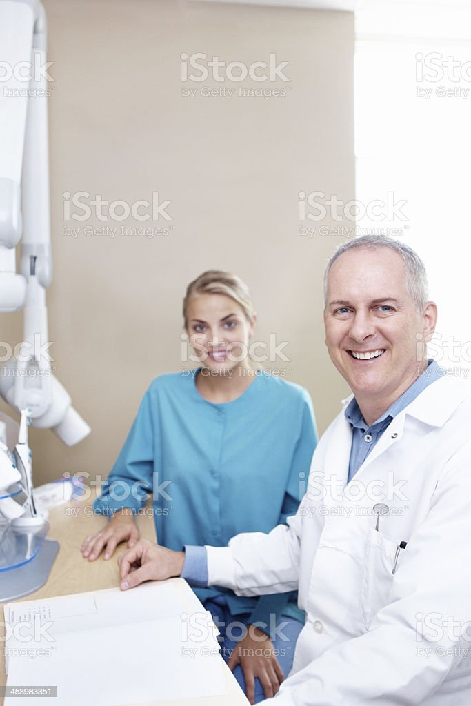 Oral hygiene at it's best royalty-free stock photo