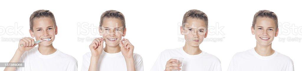 Oral Hygiene royalty-free stock photo