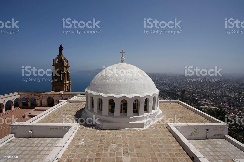 Oran Santa Cruz Chapel stock photo