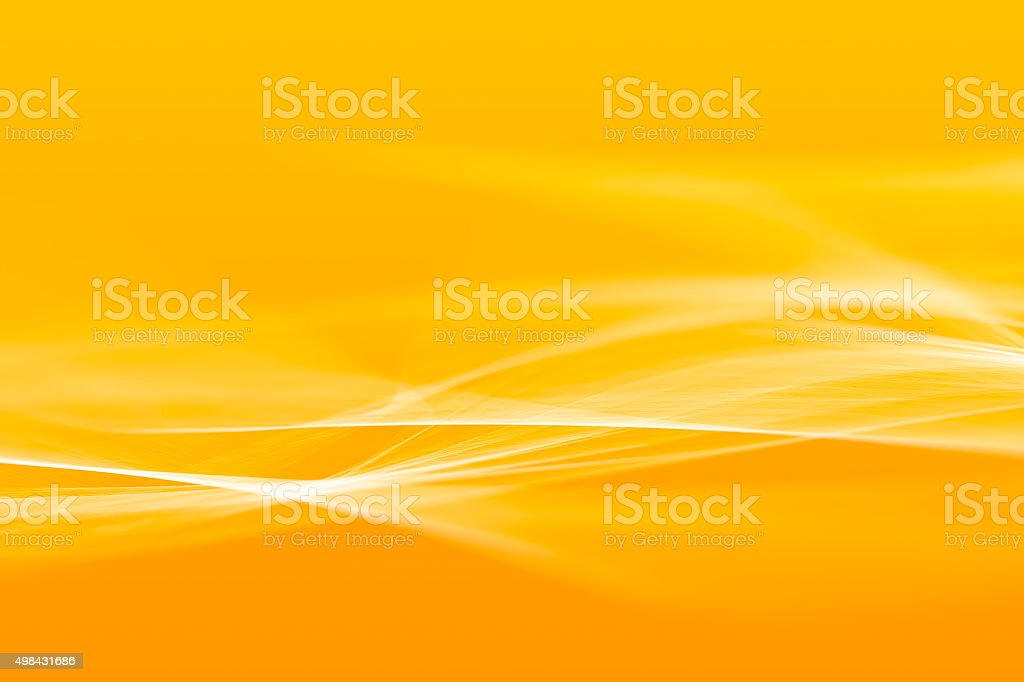 Orange abstract background vector art illustration