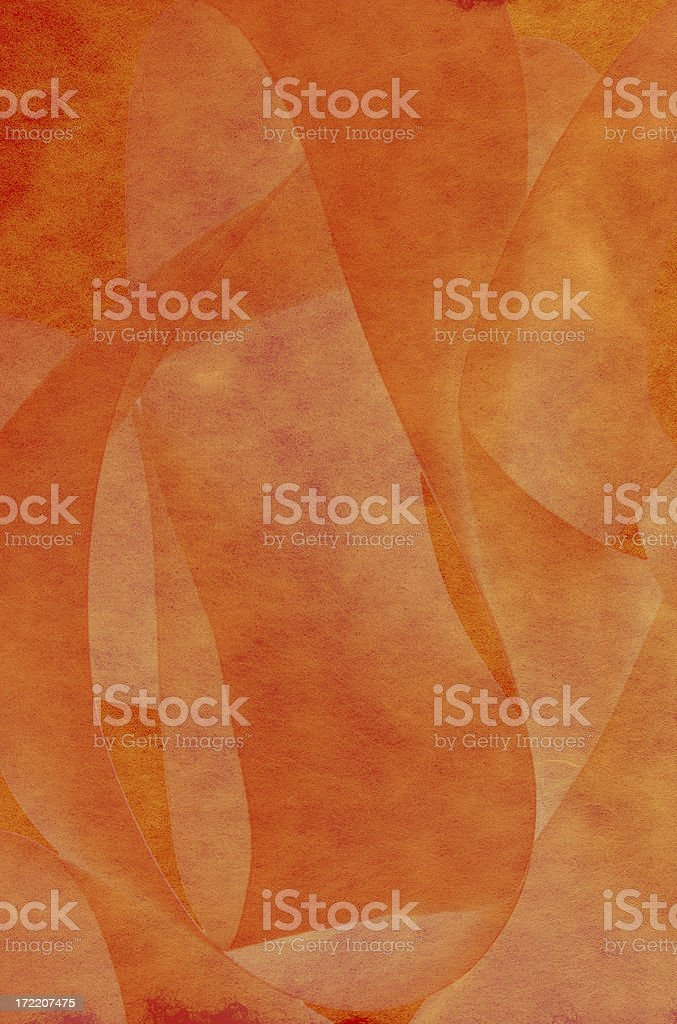 Orange and Gold Abstract Background royalty-free stock photo