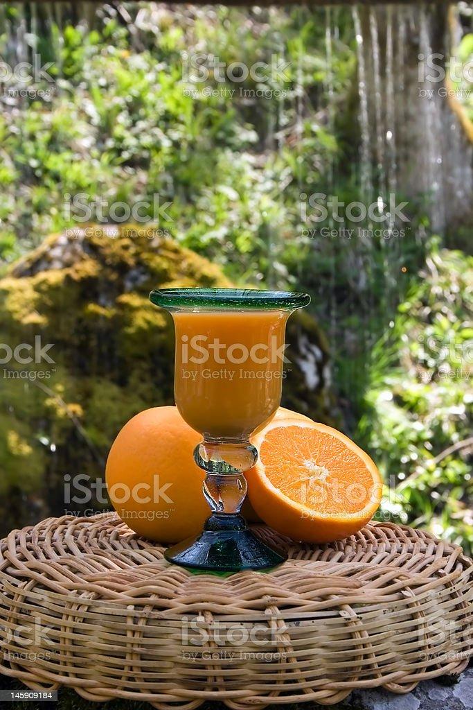 Orange and grapefruit royalty-free stock photo