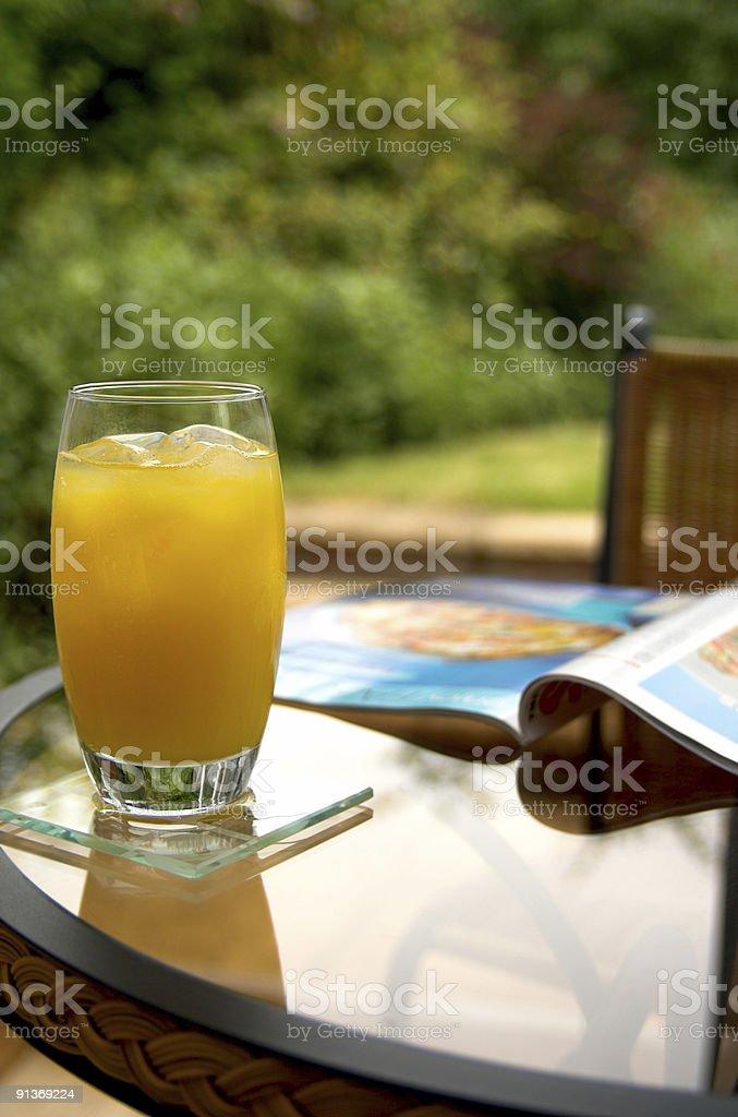 Pomarańczowy i magazyn zbiór zdjęć royalty-free
