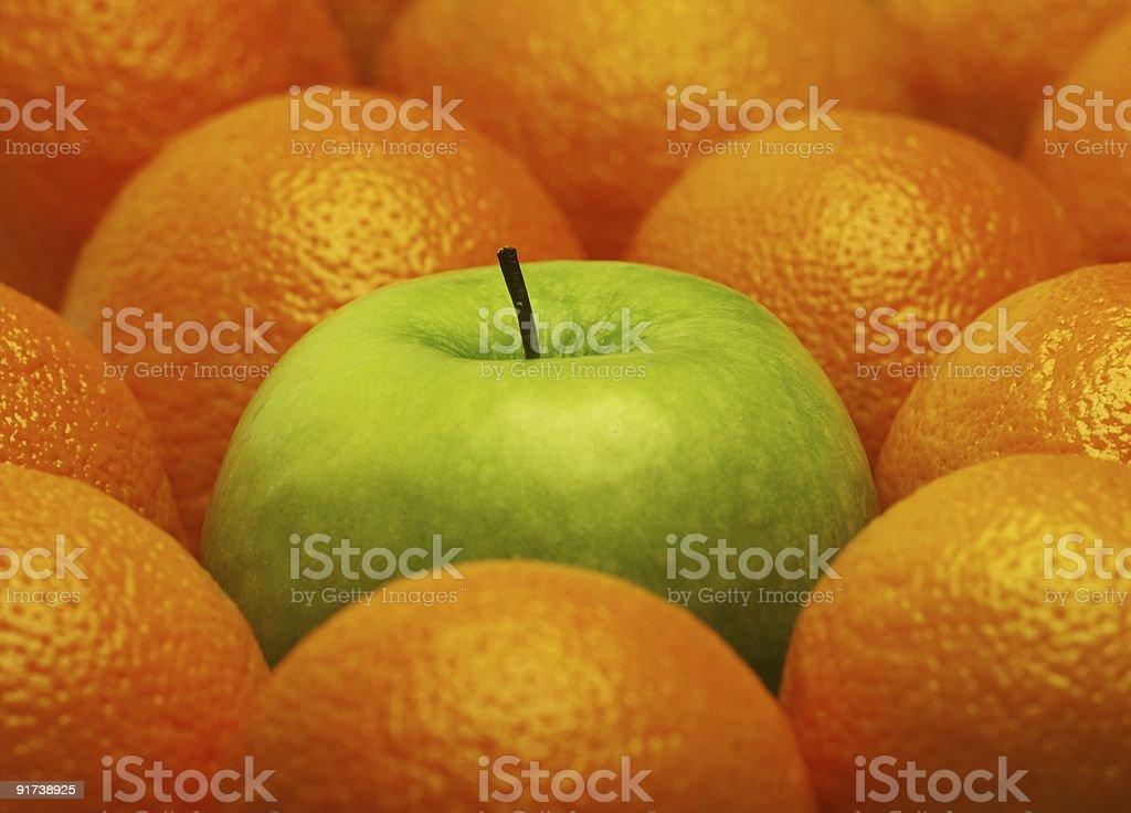 Orange background royalty-free stock photo
