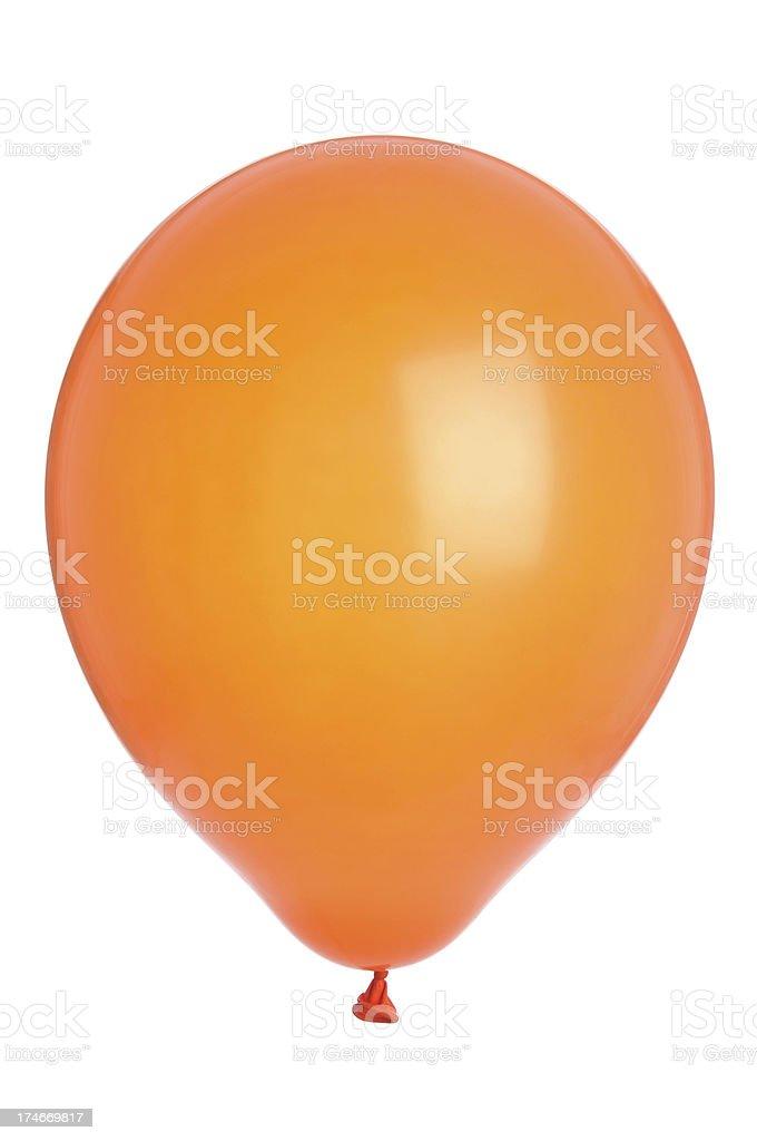 Orange Balloon (XL) stock photo