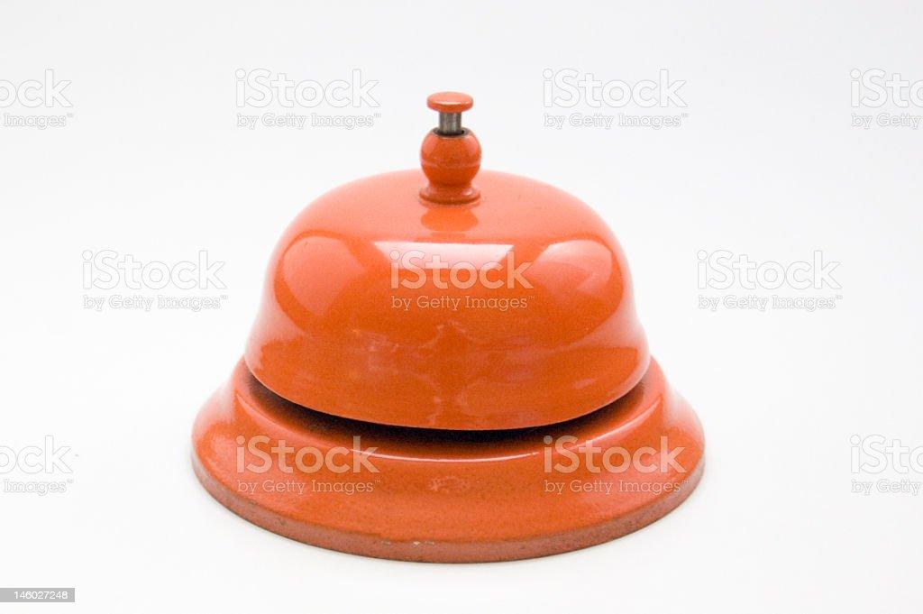 orange bell royalty-free stock photo