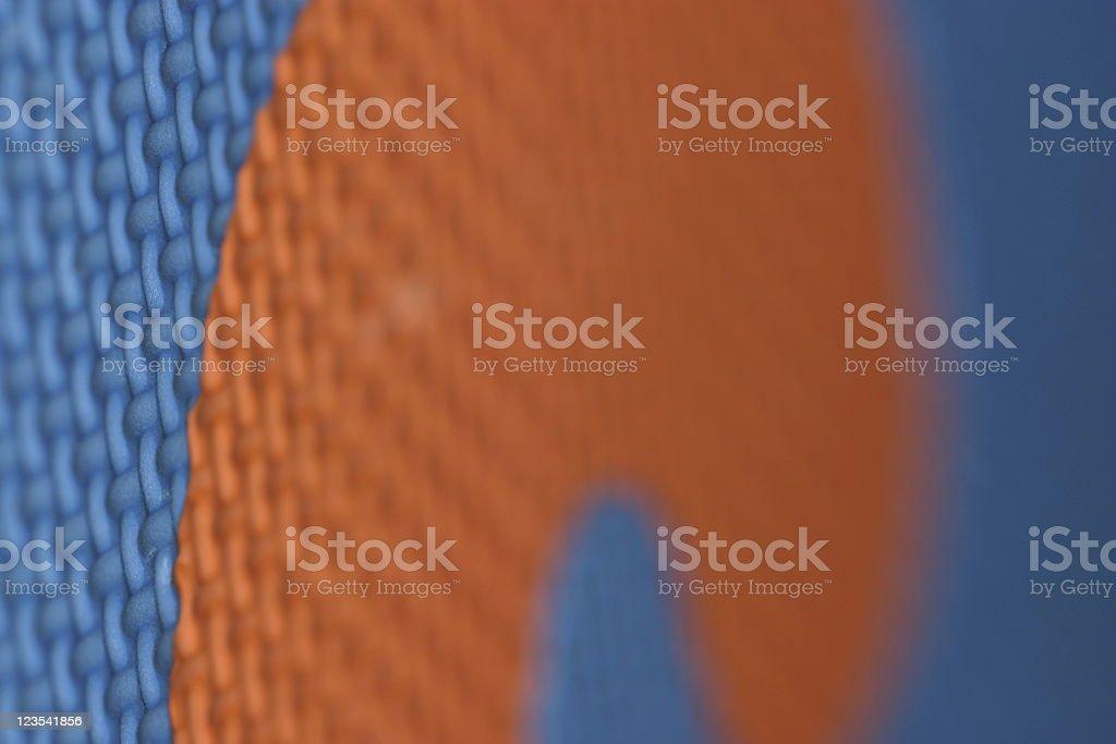 Orange blue royalty-free stock photo