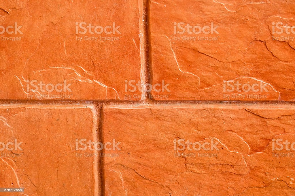 Orange brick texture background stock photo