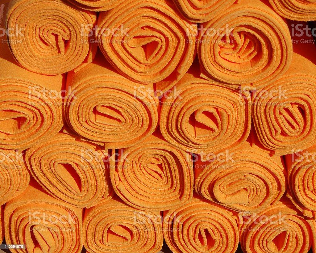 Orange Chamois royalty-free stock photo