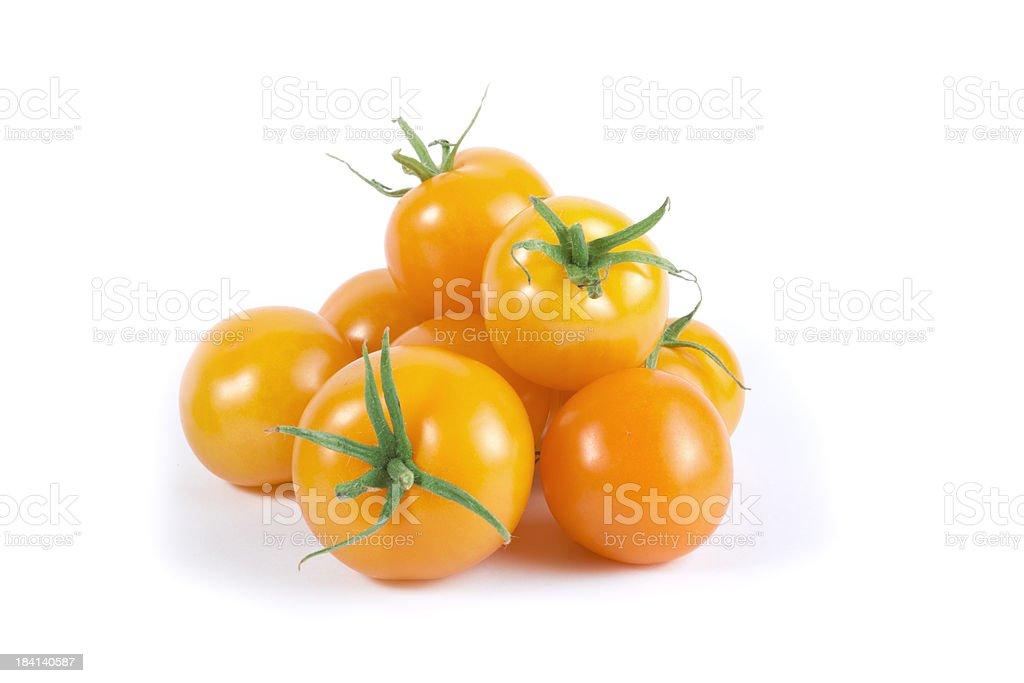 Orange Cherry Tomato Variety royalty-free stock photo
