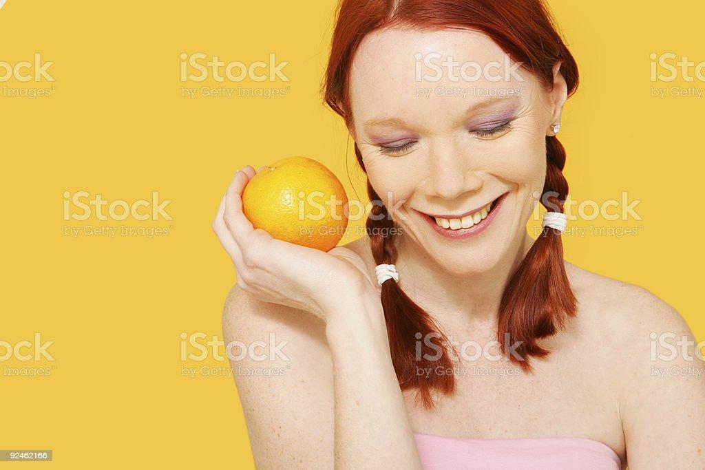 Orange Citris stock photo