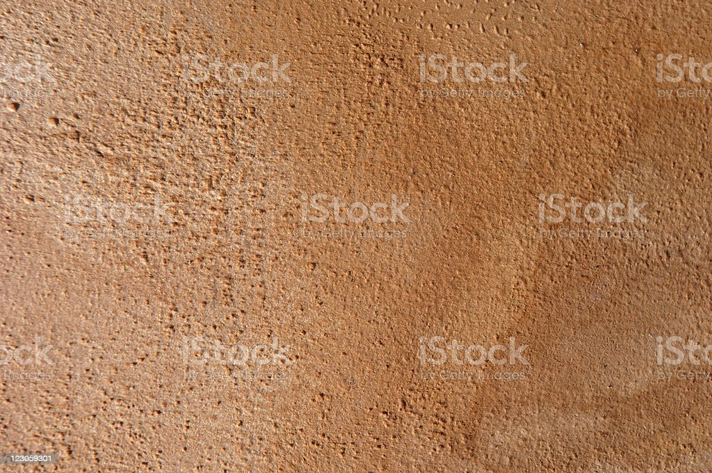 Orange clay background royalty-free stock photo