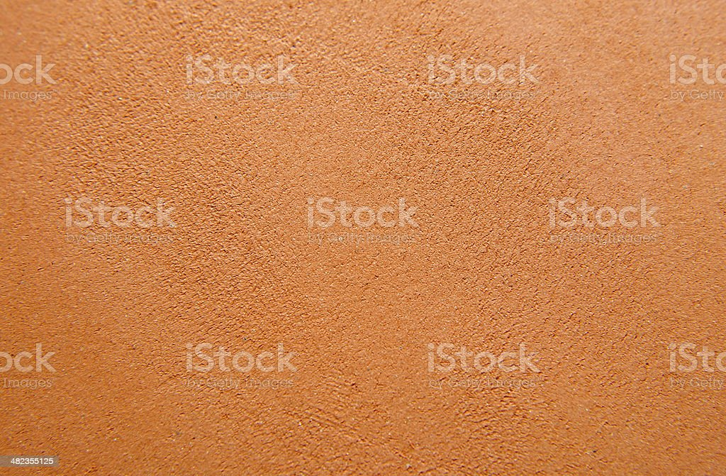Orange clay background stock photo