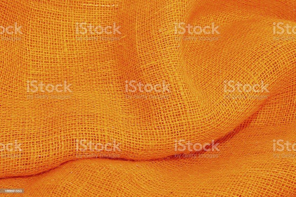 Orange cloth royalty-free stock photo