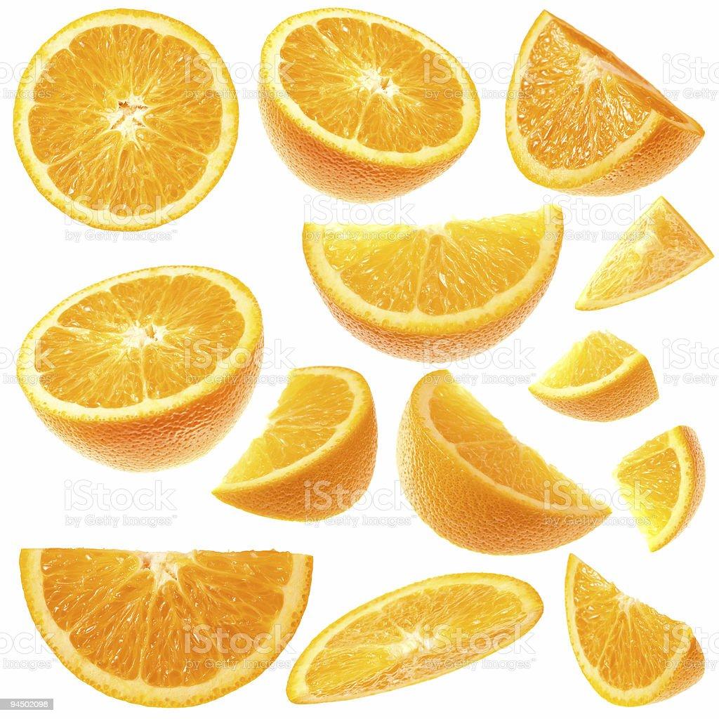 Orange collection stock photo