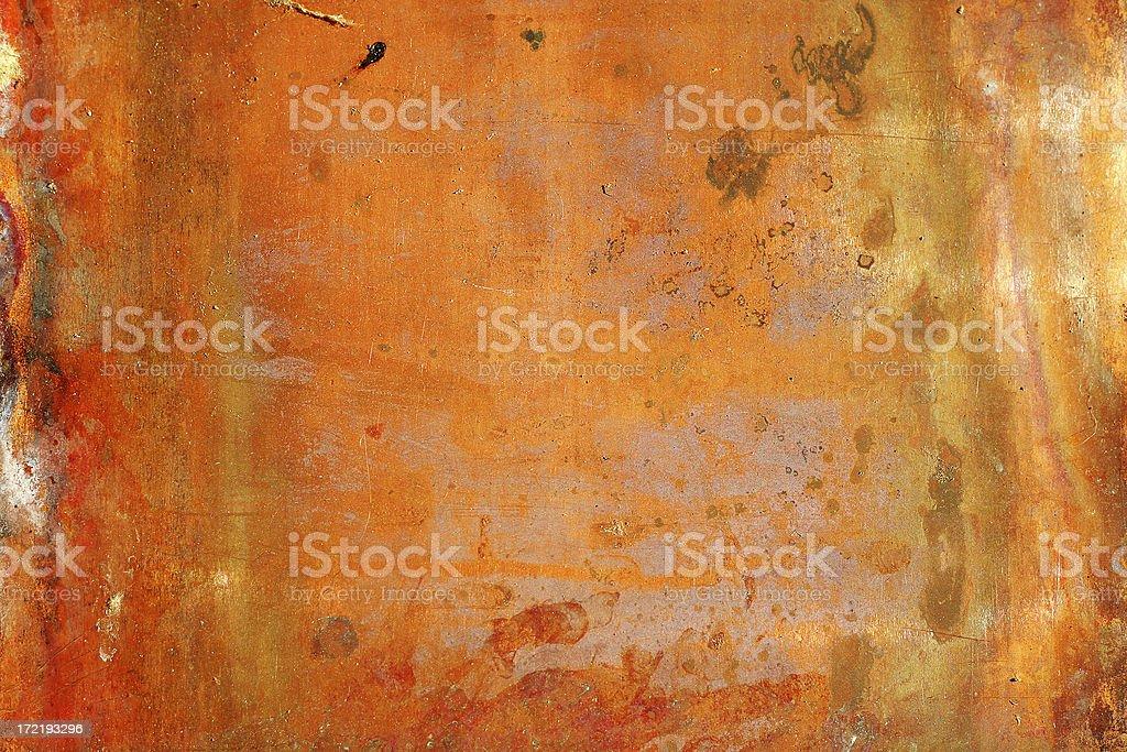 Orange Copper stock photo