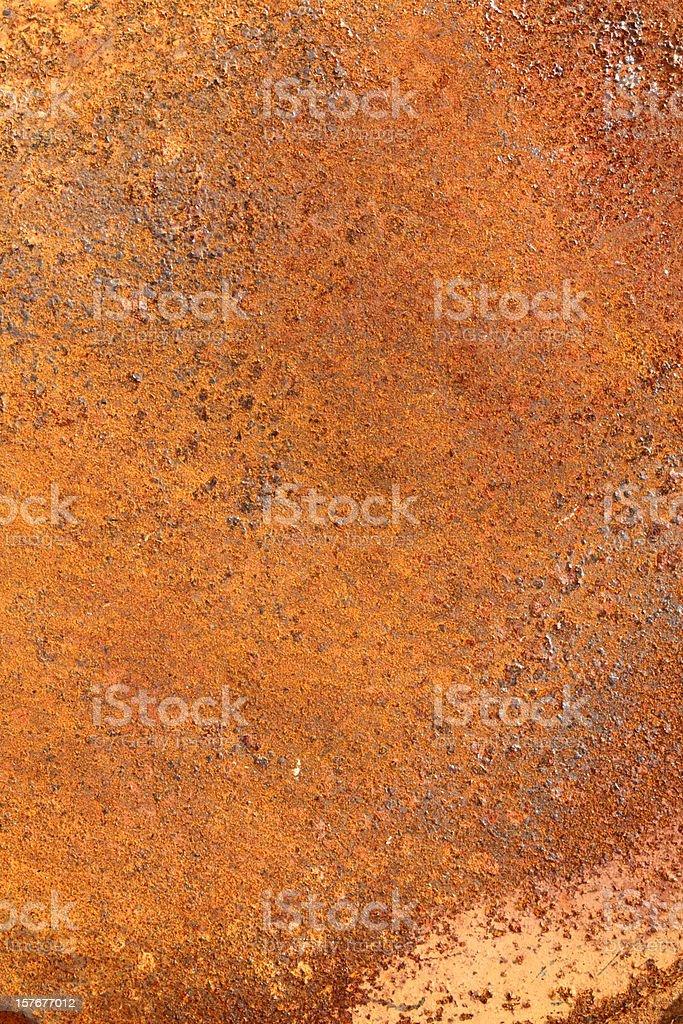 Orange corrugated iron steel background royalty-free stock photo