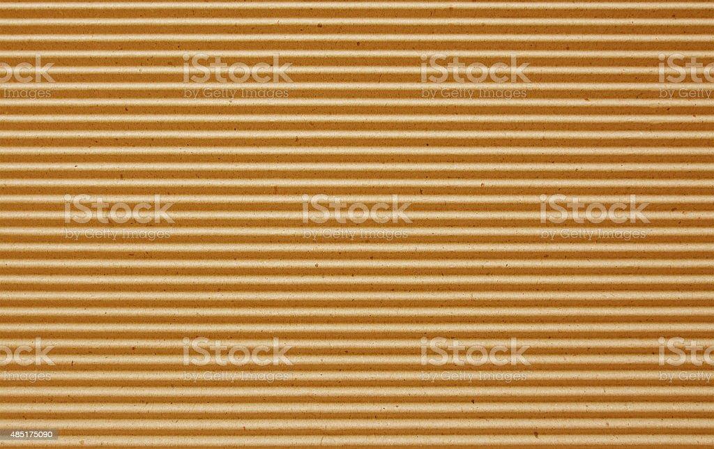 orange corrugated paper background. stock photo