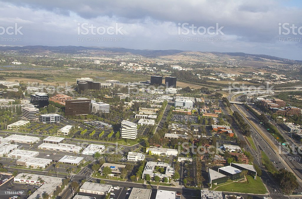 Orange County California stock photo